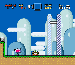 Super Mario World - Bad Score - User Screenshot