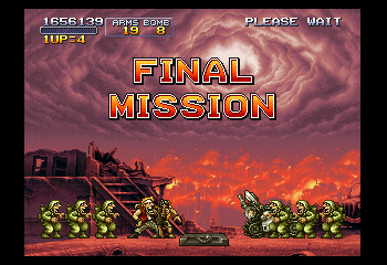 Metal Slug X - Done! - User Screenshot