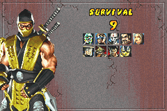 Mortal Kombat - Tournament Edition - improved by 3! :D - User Screenshot