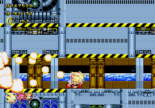 Sonic Classic Heroes - 4th place - User Screenshot