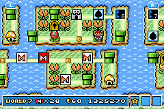 Super Mario Advance 4 - Super Mario Bros. 3 - Had to stop x2 - User Screenshot