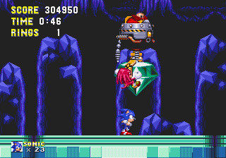 Sonic and Knuckles - High score. - User Screenshot