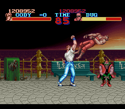 Final Fight - I tried mah best! - User Screenshot