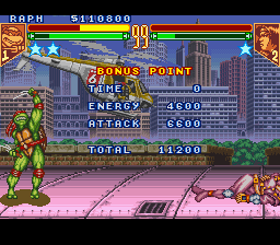 Teenage Mutant Ninja Turtles - Tournament Fighters -  - User Screenshot
