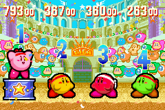 Kirby & the Amazing Mirror - Score: 793 - User Screenshot