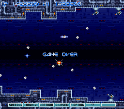 Gradius III - I AM EMPEROR PENGUIN - User Screenshot