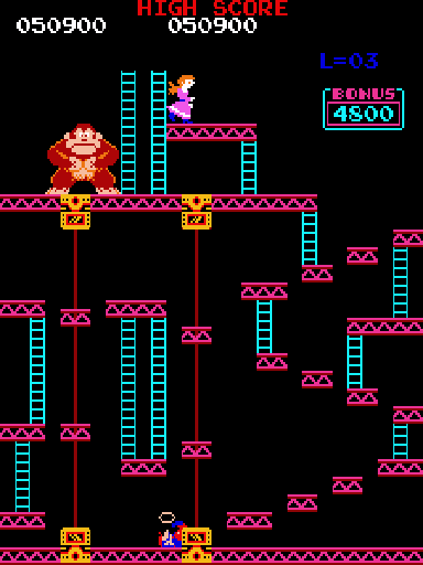 Donkey Kong (US set 1) -  - User Screenshot