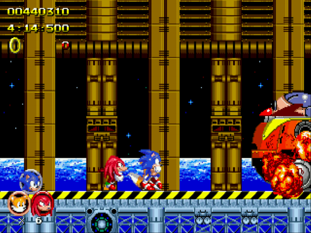 Sonic 2 Heroes - Im the best! - User Screenshot