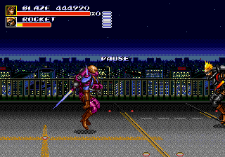 Streets of Rage 3 - Normal mode - User Screenshot
