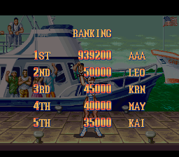 Super Street Fighter II - The New Challengers -  - User Screenshot
