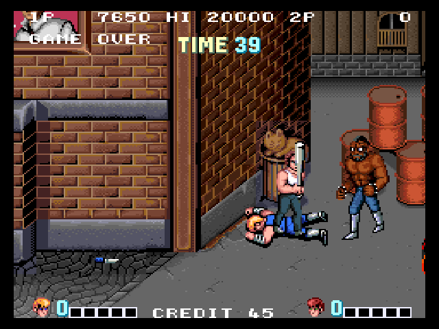 Double Dragon (Japan) -  - User Screenshot