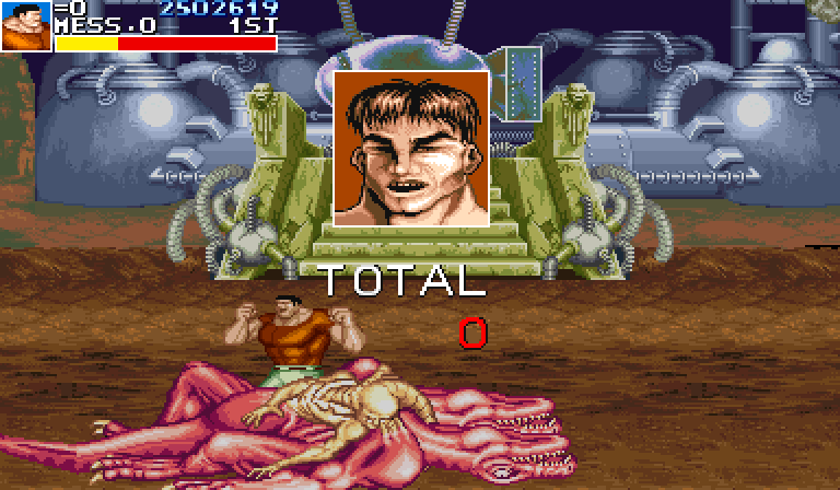 Cadillacs and Dinosaurs (World 930201) - final score - User Screenshot