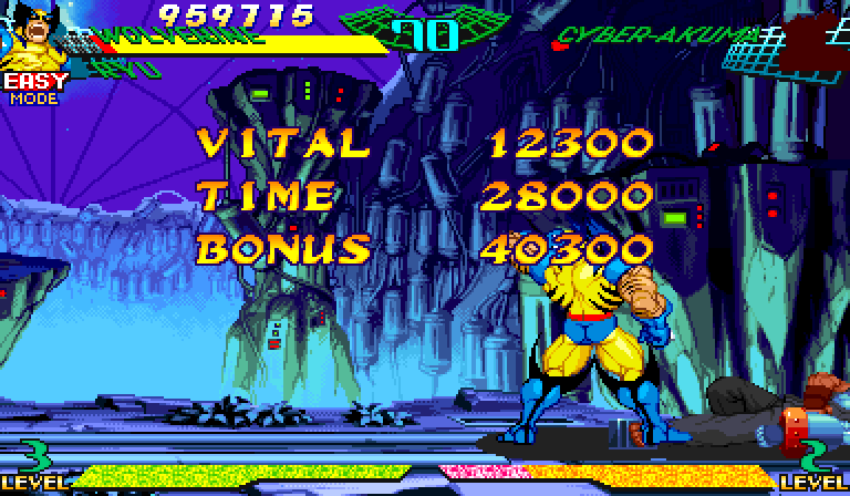 Marvel Super Heroes Vs. Street Fighter (Euro 970625) -  - User Screenshot
