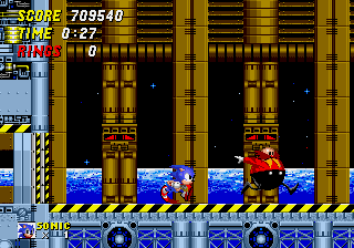 Sonic the Hedgehog 2 - Stepped up. - User Screenshot