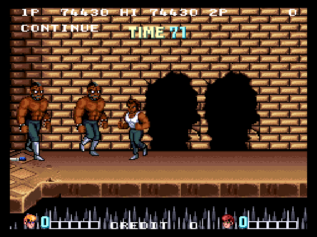 Double Dragon (Japan) - TheRedIJedi - User Screenshot