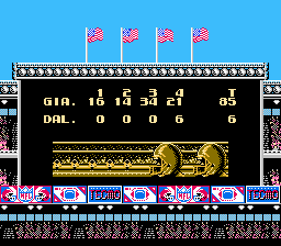 Tecmo Super Bowl - not bad for Nuggy - User Screenshot