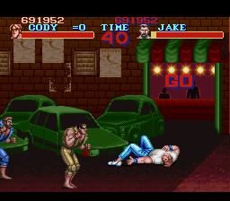 Final Fight - Doing my best! u_u - User Screenshot