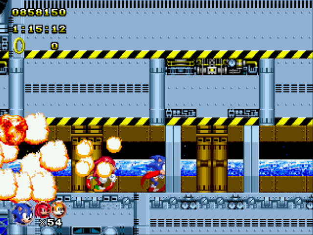 Sonic Classic Heroes - New high score - User Screenshot