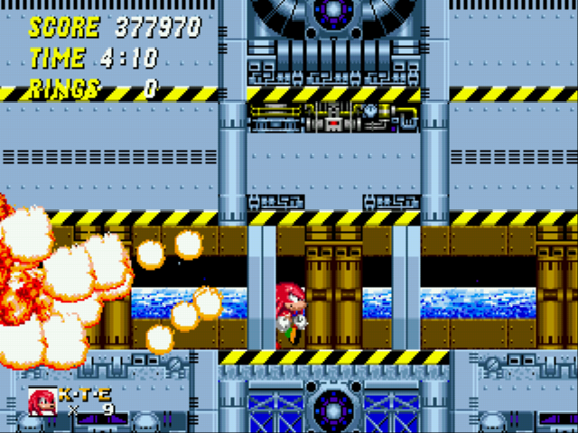 Sonic and Knuckles & Sonic 2 - New high score - User Screenshot