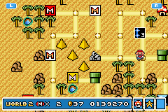 Super Mario Advance 4 - Super Mario Bros. 3 - 3rd try - User Screenshot