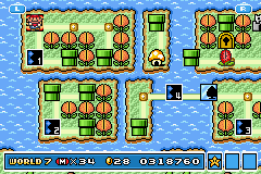 Super Mario Advance 4 - Super Mario Bros. 3 - hiscore - User Screenshot