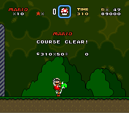 Super Mario World - Yahoo 4 1st score! - User Screenshot
