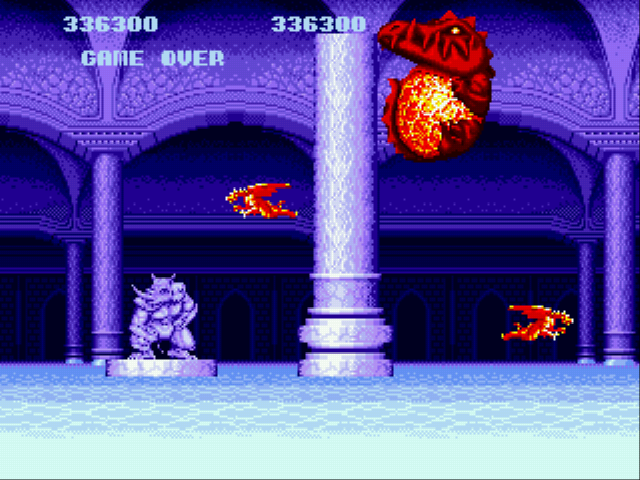 Altered Beast - Funny game - User Screenshot