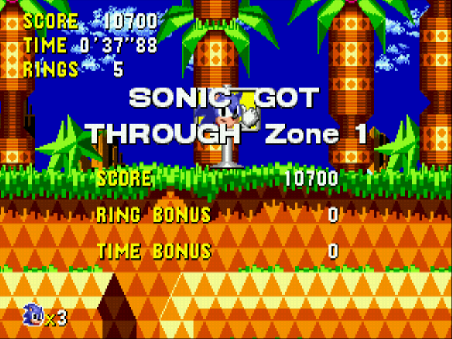 Sonic CD (european version) - 37 secs - User Screenshot