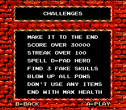D-Pad Hero 2 - Challenges - User Screenshot