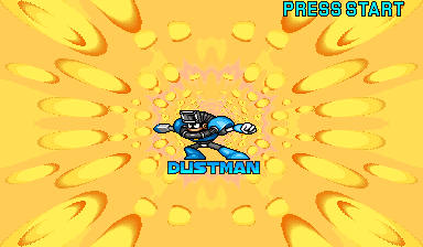 Mega Man: The Power Battle (CPS1, USA 951006) - Cut-Scene  - Dust Man - User Screenshot