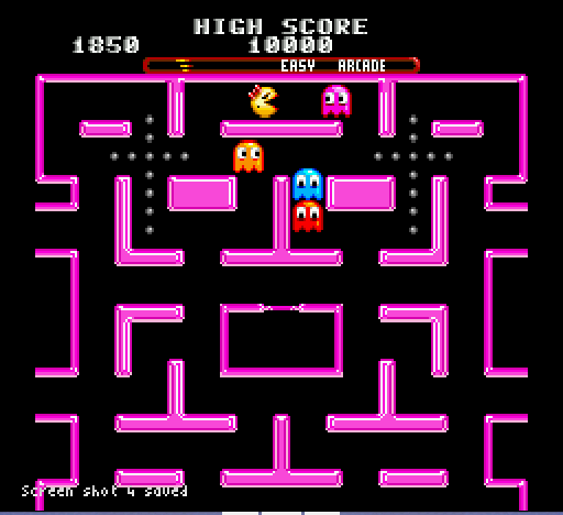 Ms Pac-Man - Dual Holy Cross - User Screenshot