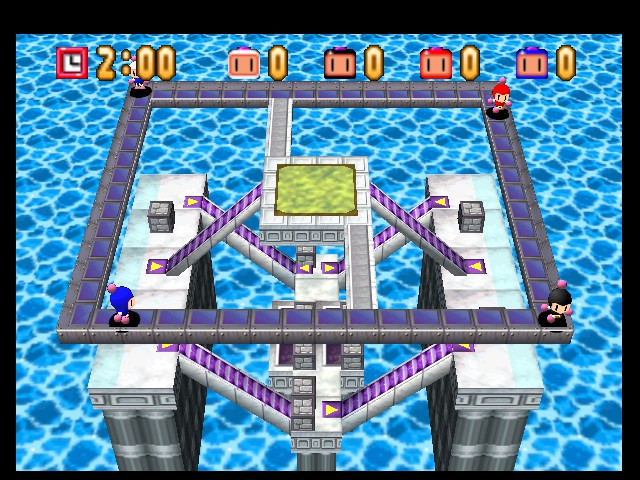Bomberman 64 - Level Up and Down -  - User Screenshot