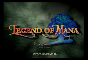 Legend of Mana - Introduction  - Title Screen - User Screenshot