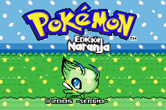Pokemon Naranja (v2) - Title - User Screenshot