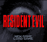 Resident Evil (prototype) - Title - User Screenshot