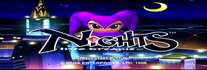 NiGHTS into Dreams... - Introduction  - Title Screen - User Screenshot