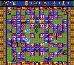 Super Bomberman 5 - Caravan Event Ban - Level Stage 13: Mystery Trolley -  - User Screenshot