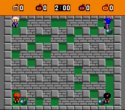 Bomberman (blue) -Level Stage 1: Normal Zone:Stage 1: Normal Zone - User Screenshot
