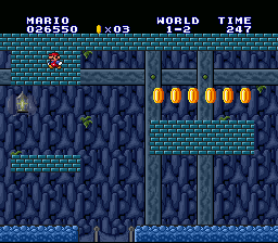 Super Mario All-Stars - Just another brick in the wall - User Screenshot