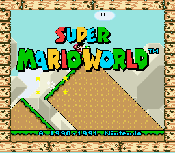 Super Mario World - Tester - User Screenshot