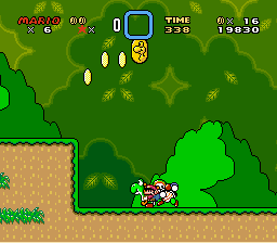 Super Mario World - What in the world is going on here? - User Screenshot