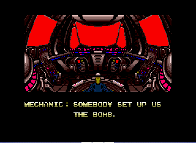 Zero Wing - Intro3: Somebody set up us the bomb. - User Screenshot