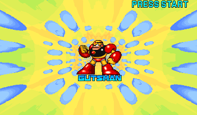 Mega Man: The Power Battle (CPS1, USA 951006) - Boss Intro - User Screenshot