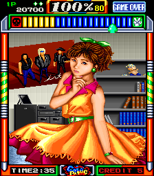 Gals Panic (US, EXPRO-02 PCB) - Cut-Scene  -  - User Screenshot