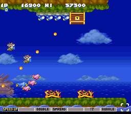"Parodius - Non-Sense Fantasy - July 2012 Screenshot Comp. ""Penguin"" - User Screenshot"