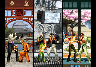 The King of Fighters 2002 - Introduction  -  - User Screenshot