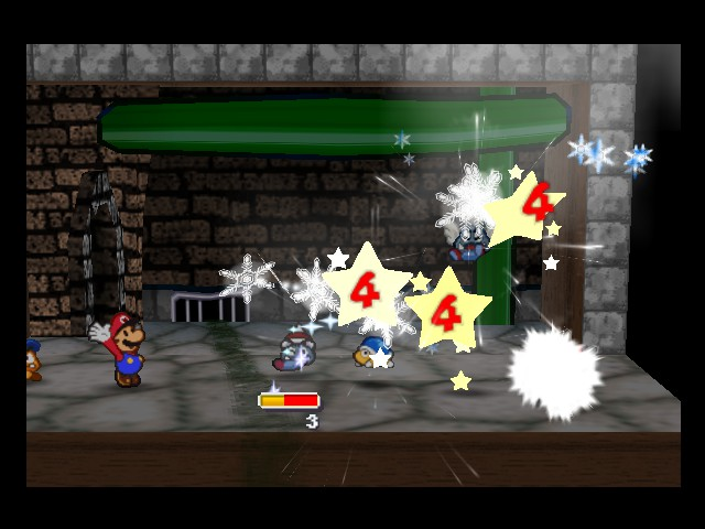 Paper Mario - Battle  - it - User Screenshot
