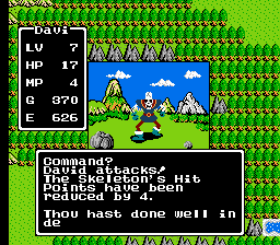 Dragon Warrior -  - User Screenshot