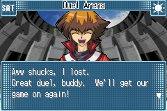 Yu-Gi-Oh! GX - Duel Academy - Jaden Lost!!! - User Screenshot