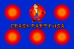 Crash Nitro Kart - Mini-Game Crash party usa - Crash party Usa - User Screenshot